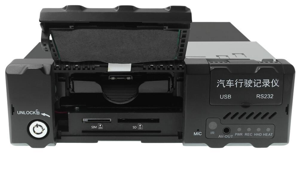 4路高清 车载硬盘录像机 支持北斗GPS导航 4G WIFI 国标部标 第2张