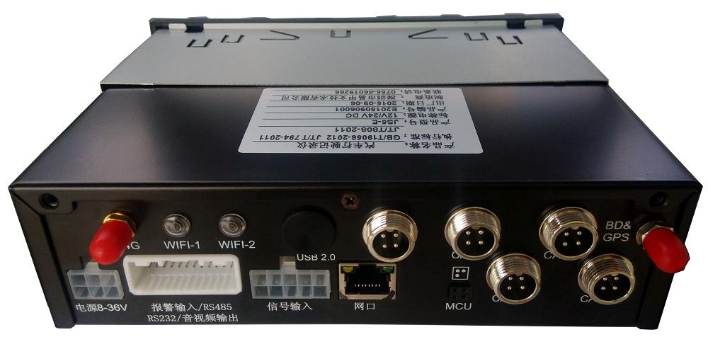 4路高清 车载SD卡录像机 支持北斗GPS导航 4G WIFI 国标部标 第3张