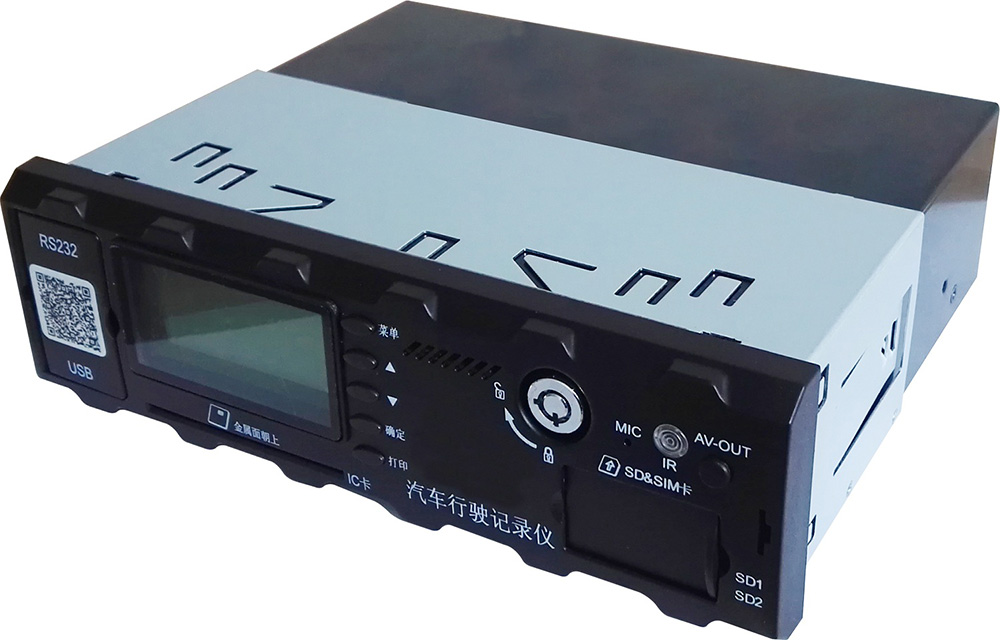 5路标清 车载SD卡录像机 支持北斗GPS导航 4G WIFI 国标部标 第1张