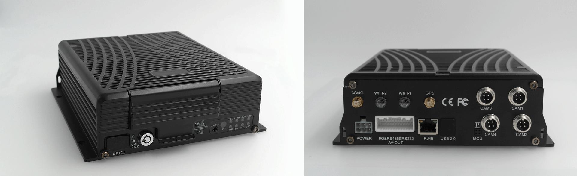 4路车载硬盘录像机 支持GPS 4G 第2张