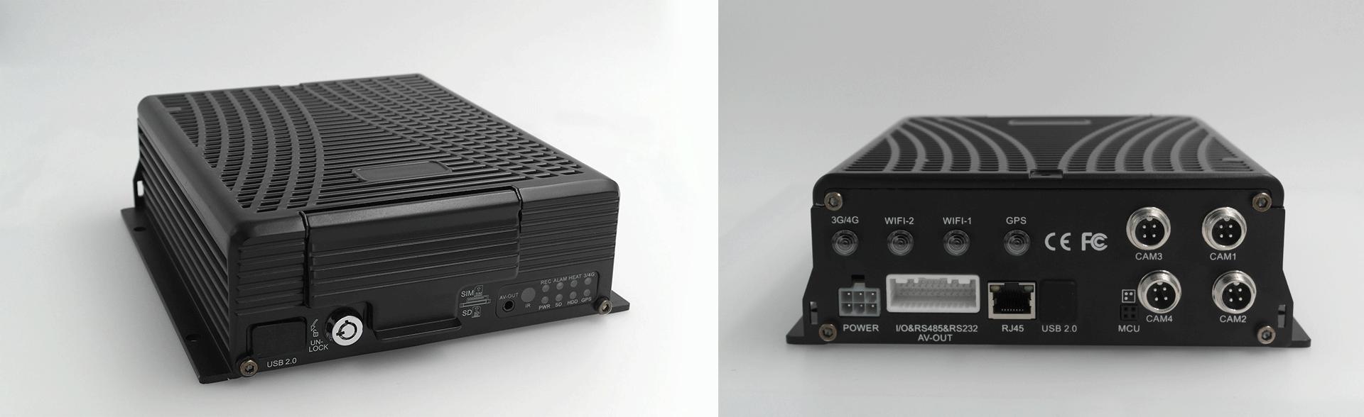 4路车载硬盘录像机 不支持网络 第2张