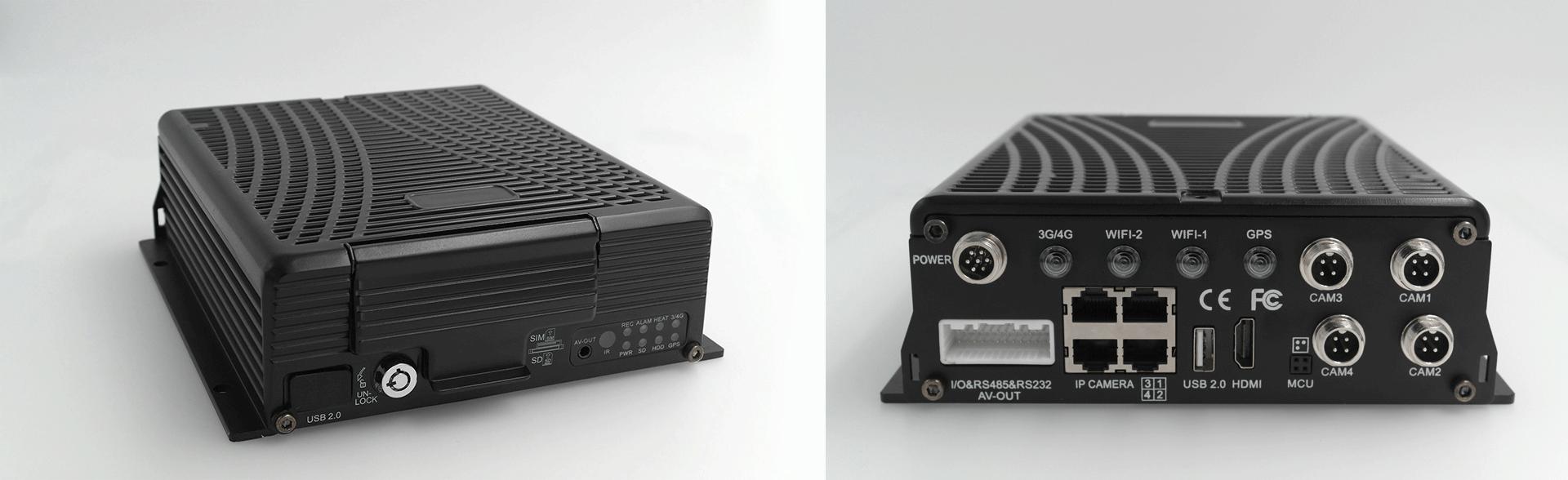 4路混合高清 车载硬盘录像机 不支持网络 第2张
