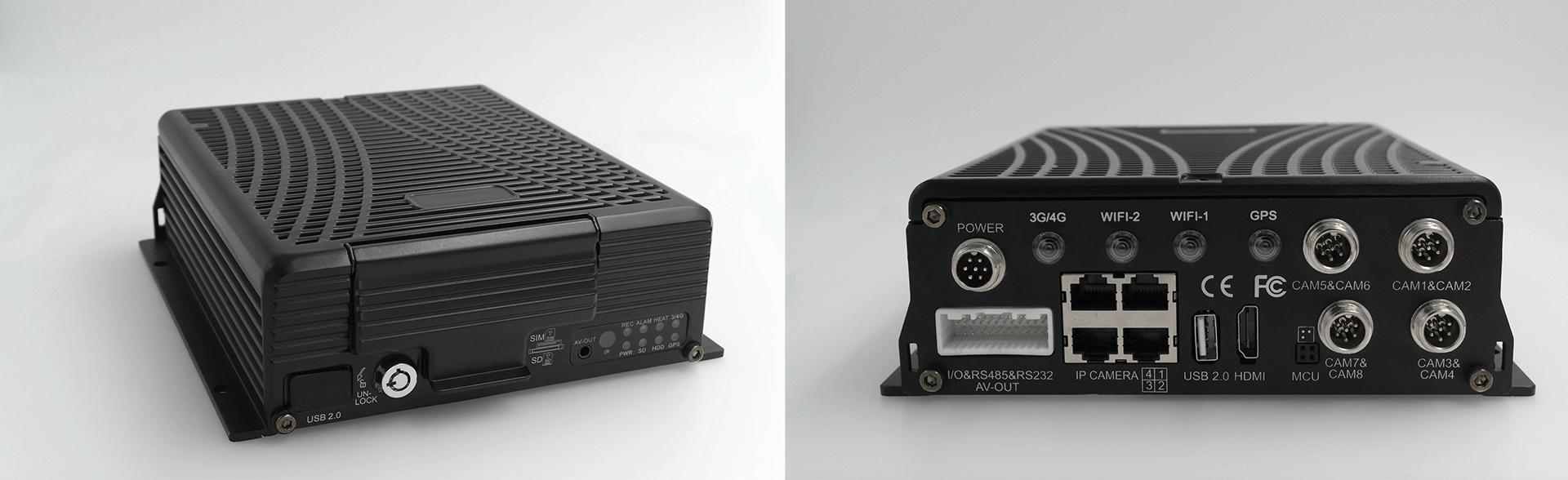 8路混合高清 车载硬盘录像机 不支持网络 第2张