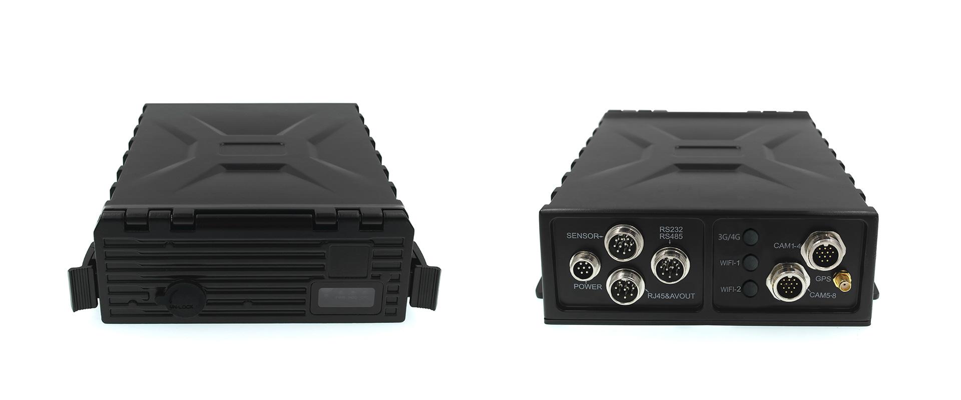 8路防水车载硬盘录像机 支持GPS 第2张