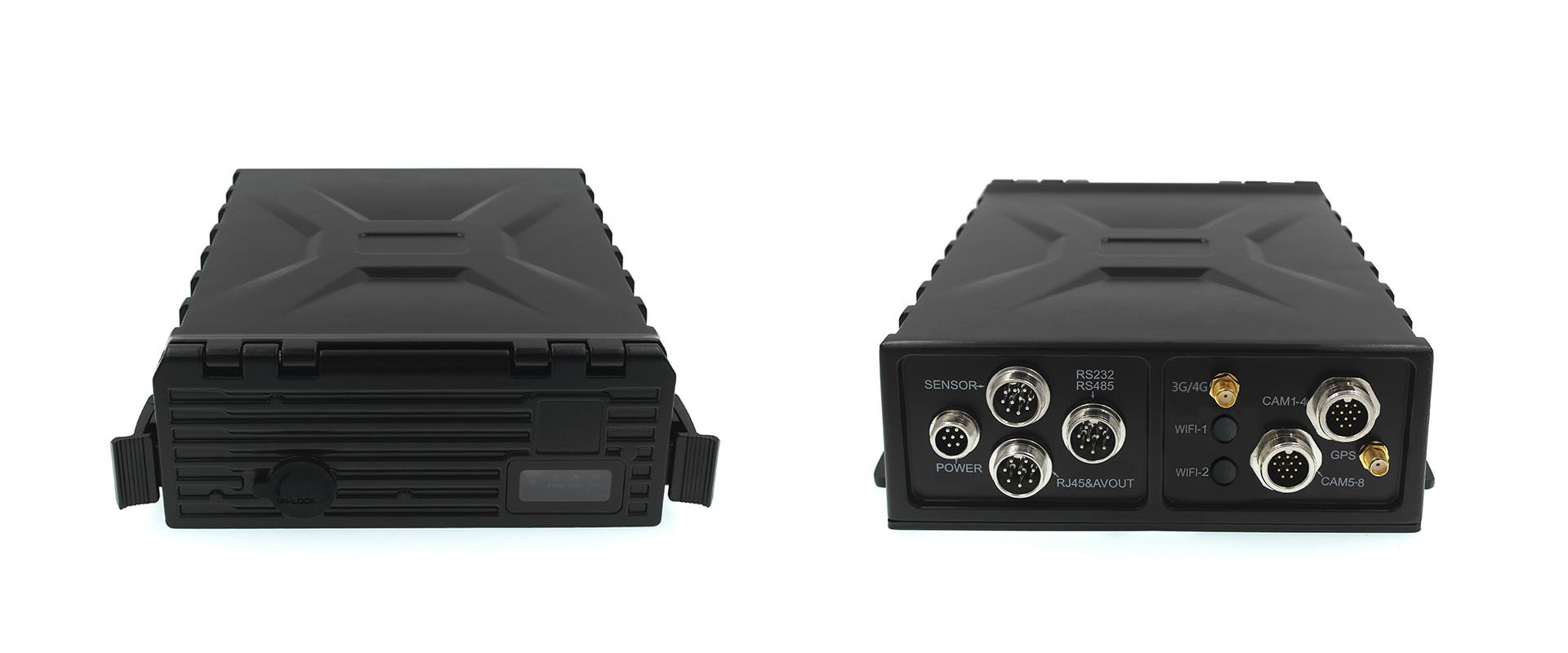 8路防水车载硬盘录像机 支持GPS 3G 第2张