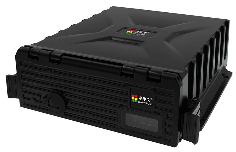 4路防水车载硬盘录像机 支持GPS 3G WIFI 第1张