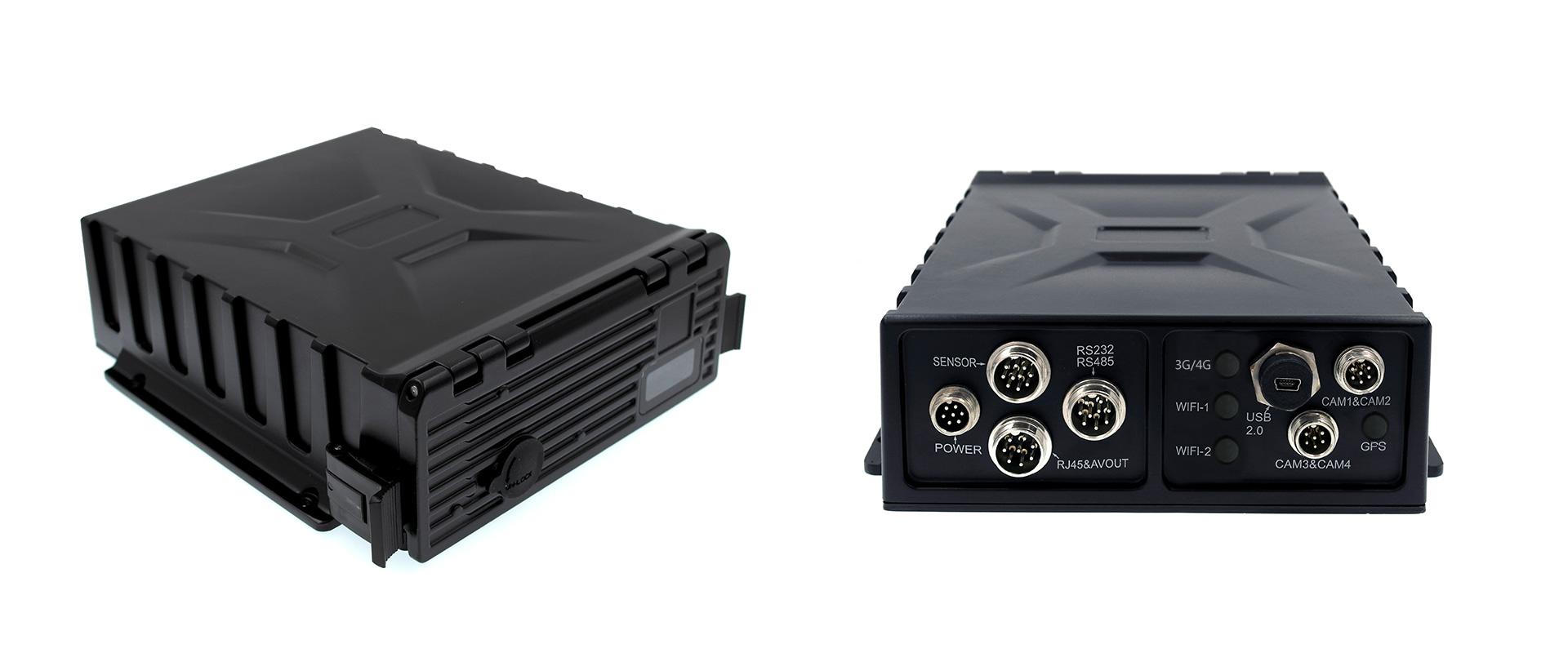 4路防水车载硬盘录像机 不支持网络 第2张