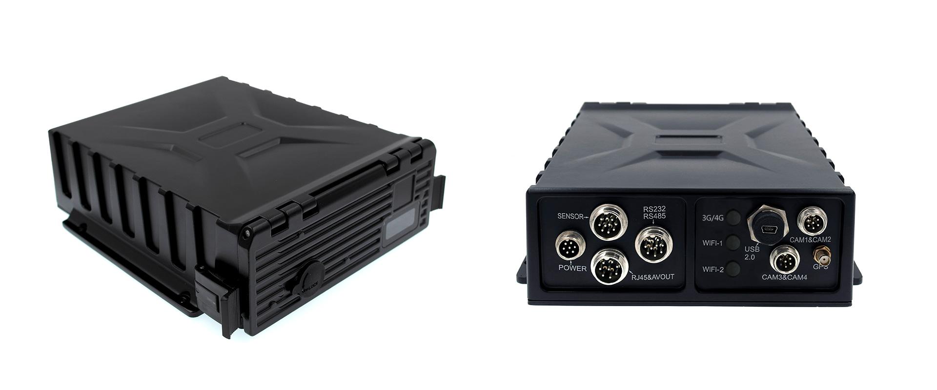 4路防水车载硬盘录像机 支持GPS 第2张