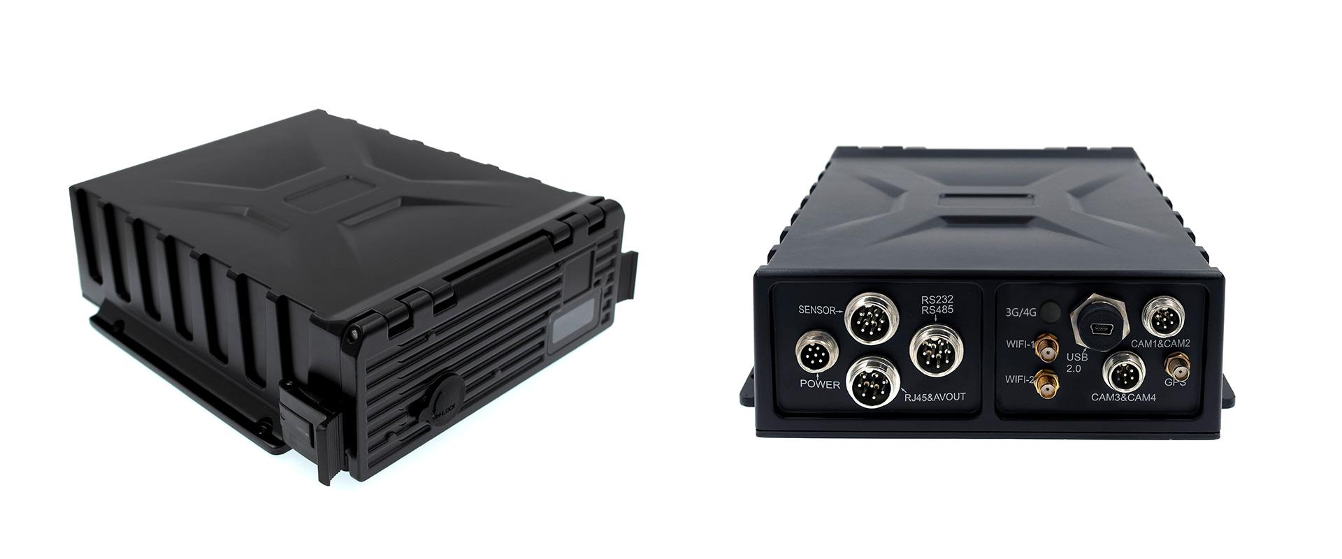 4路防水车载硬盘录像机 支持GPS WIFI 第2张