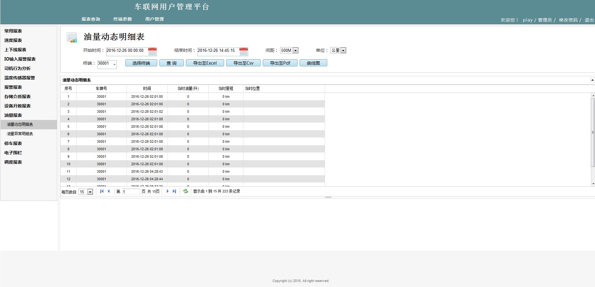 IVMS WEB客户端——智能车辆管理系统平台 第10张