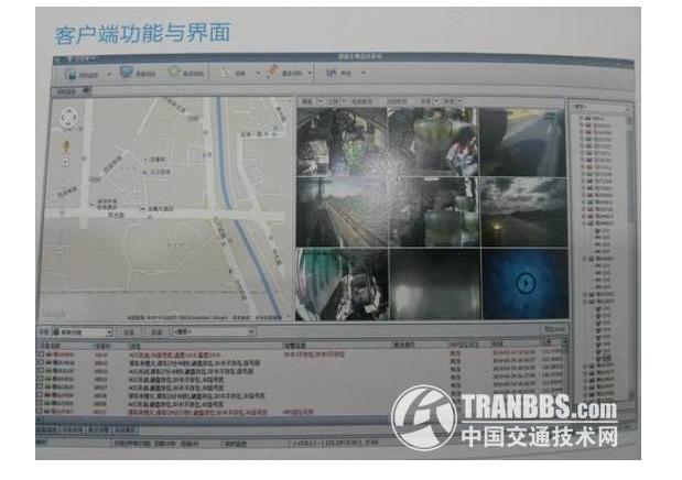 易甲文车载监控系统亮相2014安博会 —Tranbbs记者现场报道 第2张