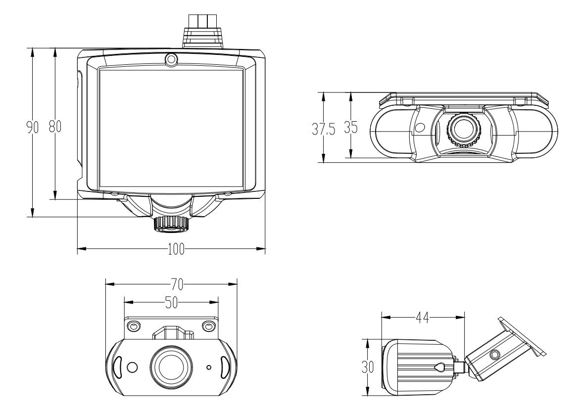 网约车终端 支持4G GPS WIFI 可搭配DSM摄像头 第2张