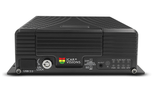 8路车载硬盘录像机